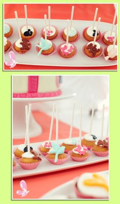 Cake-pops!  Read more: http://eraumavez-osonhoperfeito.blogspot.pt/2013/11/17-animal-cake-pops-cake-design-by-era.html