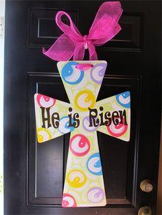 72 Best Wooden Door Hangers Easter Images Wooden Door