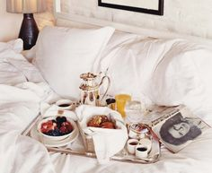 Nothing like a little breakfast in bed!
