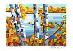 "Daily Paintworks - ""Landscape Study #66"" - Original Fine Art for Sale - © Mandy Budan"