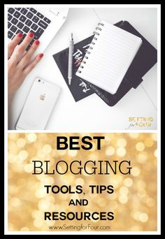 See the ESSENTIAL Blogging Resources and Tools that I use as a full time professional blogger to save me time, grow my business and succeed! I'm sharing them with you so you can GROW your blog too! www.settingforfour.com