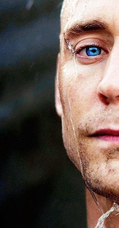 My hair's still curly and my eyes are still blue, and yes you are, Tom.