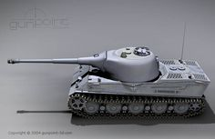 Pzkpfw VII Lowe. Never left the drawing board.