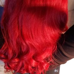 Redhead Redhair rote Haare mit Goldwell Elumen love my new hair color