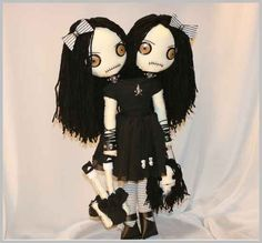 Siamese Twin Doll