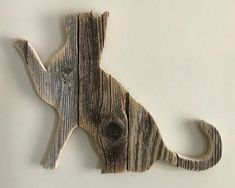 Cat - Pose 2 (sold-order yours now) Wood Projects, Woodworking Projects, Cat Pose, Wood Cat, Repurposed Wood, Artisanal, Wood Pallets, Recycled Pallets, Wood Wall Art