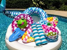 Enjoy some pool fun with floats and toys for all ages. #poolfloatsandtoys