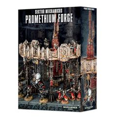 40K Terrain and Scenery 152940: Sector Mechanicus Promethium Forge Games Workshop Terrain Shadow War Terrain -> BUY IT NOW ONLY: $76.24 on eBay!