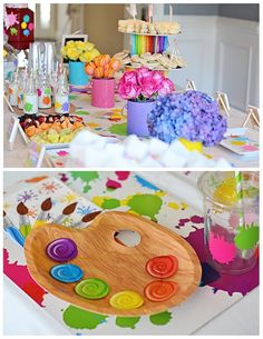 Art Themed party