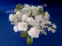 Bouquet di rose bianche rose white