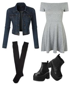 """""""Untitled #96"""" by pandasdream ❤ liked on Polyvore featuring Topshop, T.U.K., LE3NO and Aéropostale"""