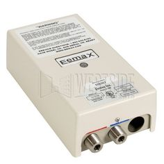 Low energy hot water heating -- Eemax 120V 20A RV/Marine Electric Tankless Water Heater - Bottom Feed