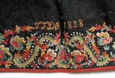 Rosemaling Pattern, Folk Embroidery, Folk Fashion, Tole Painting, Folk Costume, Religious Art, Historical Clothing, Norway, Folk Art