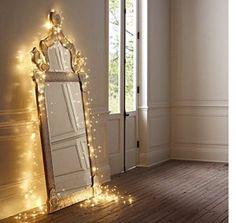 Salcar coloré LED guirlande lumineuse de 10 mètres / 33 Ft 100 diodes à l'intérieur du fil de cuivre Micro pour les fêtes de Noël Party…