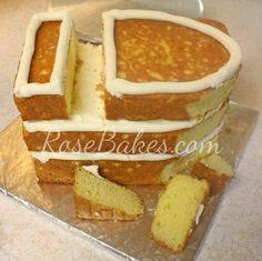 How to Carve a Ship Cake 07