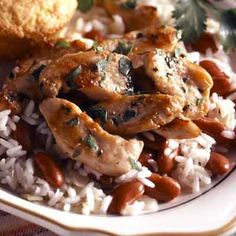 Southwestern chicken breasts recipe chicken breasts southwest cilantro chicken with beans forumfinder Image collections