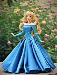 Disney Princess Aurora, Disney Princesses And Princes, Disney Princess Dolls, Disney Princess Dresses, Sleeping Beauty Movie, Sleeping Beauty Wedding, Aurora Sleeping Beauty, Barbie Dress, Barbie Clothes