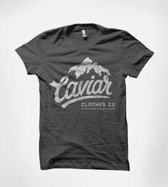 selected t-shirts by Olga Vasik, via Behance, Caviar, Mountain Top, Grunge, Design, tee, Clothes