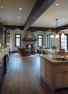 Handscraped Floors Design Ideas, Pictures, Remodel, and Decor - page 4