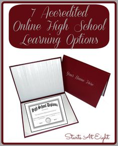 7 Accredited Online High School Learning Options. Homeschool high school with these online learning options.