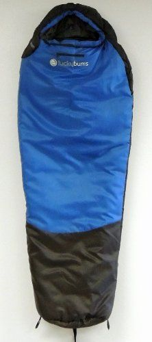 Lucky Bums Youth 0-Degree Serenity II Sleeping Bag Outdoor Store With a temperature rating of 0 degrees Fahrenheit, this mummy-style sack keeps scouts and youth campers warm and cozy whilst sleeping outdoors; designed with young campers in mind this bag is cut slim to verify a proper fit helping get rid of cold spots. Bag measures 24 Inch at its widest point. With careful design and construction worthy of an adult bag, the Serenity II boasts 190 g/m2…