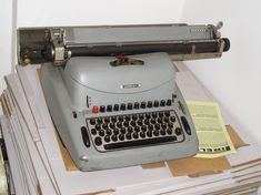 Typewriter, Electronics, Tecnologia, Typewriters