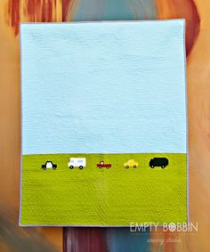 Busy city quilt, boy quilt pattern, modern quilt pattern, empty bobbin sewing, teaginny designs