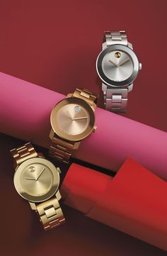 Wow with Movado. Loveee