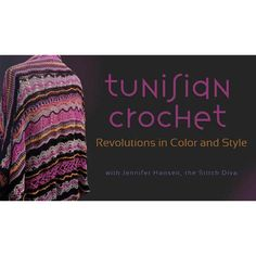 Tunisian Crochet Revolution an Color and Style. www.thegentlemanpirate.com . . . Worked with a tool that's a cross between a crochet hook and a knitting needle, Tunisian crochet creates interesting textures and lends itself to bold color combinations. #tgpiratecrochet