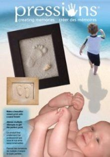 Pressions Baby Feet Handprints kits Footprint kits Pet prints Baby gifts - Purchase Online