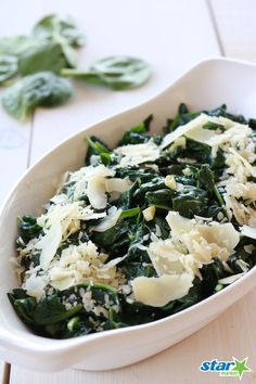 This tasty Spinach Italiano recipe only takes 6 minutes to whip up and will make the perfect side dish any night of the week!