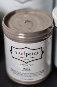 Mudpaint - a new line of furniture paint. Great for distressing and antiquing.