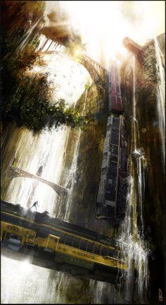 Train Wreck by Happy-Mutt.deviantart.com on @deviantART