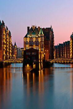 Speicherstadt, Hamburg.