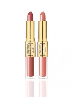 *Please note this item is not eligible for select discounts or promotions. Orders will ship on or before 3/22. Like 4 lippies in 1! It's a duo of vegan double-ended lip faves, each with a full coverage creamy lipstick & coordinating lipgloss. Limited-edition set includes:  deluxe lip sculptor lipstick & lipgloss in life (peach nude) deluxe lip sculptor lipstick & lipgloss in VIP (cool nude)