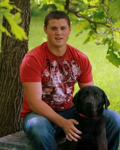 Senior Pictures. But instead of a guy, picture me with my dogs...