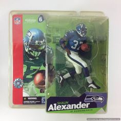 b3fa7f031 McFarlane NFL Sports Picks 2003 Shaun Alexander Seattle Seahawks Series 6