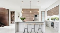 LOVE the look of this kitchen! Boutique Homes