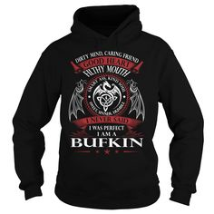 BUFKIN Good Heart - Last Name, Surname TShirts