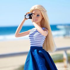 """""""Capture the beauty that's all around you! #barbie #barbiestyle"""""""