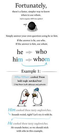 who vs whom, via the Oatmeal