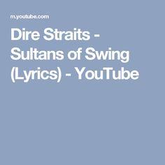 Dire Straits - Sultans of Swing (Lyrics) - YouTube