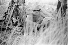 """Charlie Haughey was a US Army photographer in Vietnam in 1967, shooting nearly 2,000 photos. The the negatives have recently been rediscovered and digitized for a new book of photos, which they are now crowdfunding, titled """"A Weather Walked In""""."""