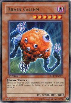 Yugioh - Yu-Gi-Oh! Raging Battle - Brain Golem