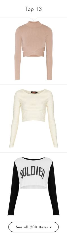 """Top 13"" by ariel-bertelsen ❤ liked on Polyvore featuring tops, sweaters, shirts, crop tops, pink, turtleneck sweater, cropped turtleneck sweater, cropped sweaters, pink sweater and crop shirt"