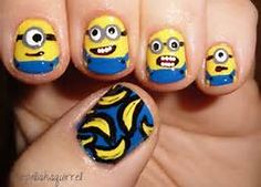 Minnion nails - Bing Images