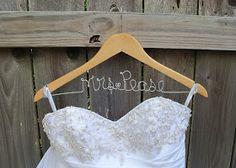 So Many Sweets: DIY - Wedding Name Hanger