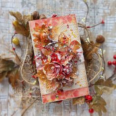 WoW! a World Cardmaking Day - bloghop - Autumn