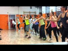 "▶ Zumba ""Voy a Marte"" Zin 47 Profight1 & Fitntess Lucca Alice - YouTube"
