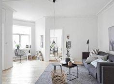 Design scandinave pour cet appartement suédois